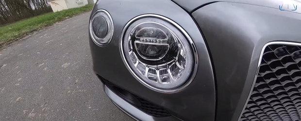 Au calcat pedala de acceleratie la podea. Uite cat de rapid este primul Bentley diesel din istorie!