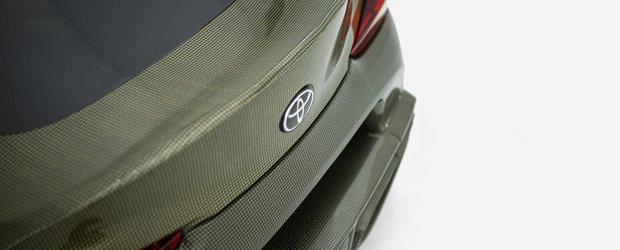 Au construit o SUPRA de toata frumusetea: caroserie din carbon-Kevlar si motor 2JZ de 1000 CP