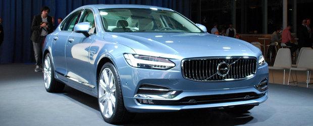 Au fost anuntate preturile noului Volvo S90. Cat costa in Romania rivalul lui BMW Seria 5