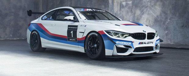 Au luat tot ce au avut mai bun si au creat masina perfecta de circuit. El este noul BMW M4 GT4