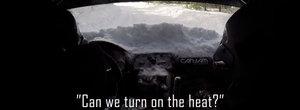 Au luat zapada in masina de raliuri, dar au continuat proba. La sfarsit au urcat pe podium!