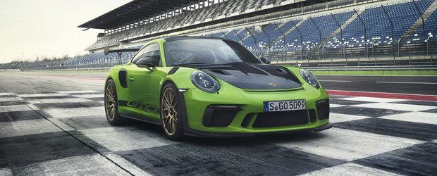 Au pierdut oricum elementul surpriza. Porsche lanseaza oficial noul GT3 RS cu 520 de cai sub capota