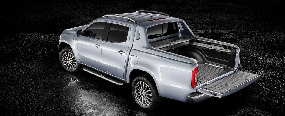 Au promis si au livrat. Mercedes lanseaza o versiune V6 a noului X-Class