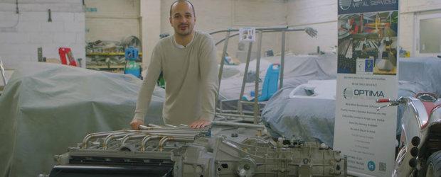 Au pus laolalta doua motoare V10 si au obtinut unicul propulsor X20. VIDEO