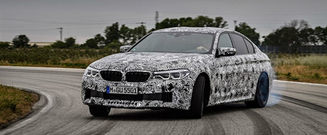 Au recunoscut tot. Noul BMW M5 va avea tractiune spate la buton si 600 de cai sub capota