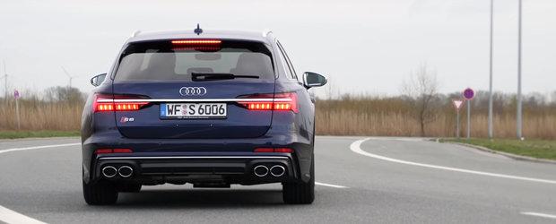 Au scos in teste primul Audi S6 cu motor diesel din istorie. Uite cat de repede accelereaza masina cu 349 CP sub capota