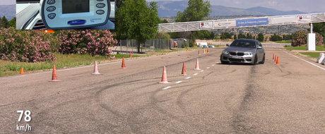 Au supus noul BMW M5 la testul elanului. Masina l-a PICAT, insa exista o explicatie pentru asta