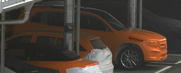 Au surprins noua masina de la Mercedes complet necamuflata. Nimeni nu se astepta sa arate chiar asa