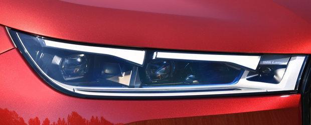 Au surprins-o intr-o parcare, fara urma de camuflaj. Uite cum arata pe viu cea mai noua masina de la BMW!