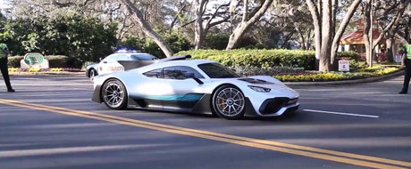 Au surprins-o pentru prima oara pe strazi. Cum arata pe viu noua masina de 1.6 litri si 1000 CP de la Mercedes