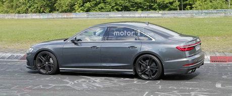Au surprins viitoarea limuzina de performanta de la Audi complet necamuflata. Cati cai urmeaza sa aiba noul S8