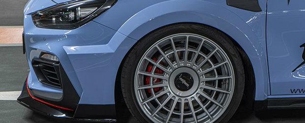 Au taiat o Hyundai i30 N pana au facut-o sa arate ca o masina din WRC. POZE si VIDEO