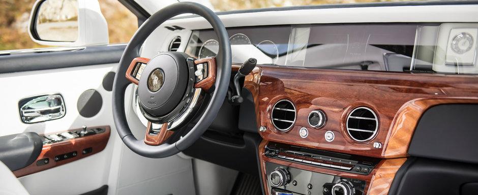 Au testat in premiera perla britanicilor de la Rolls-Royce. Este oare noul Phantom cea mai luxoasa masina din lume?