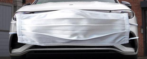 "Au testat, in sfarsit, noua masina de la Mercedes. ""Arata de parca ar purta o masca uriasa de protectie"""