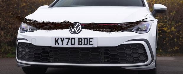 """Au testat, in sfarsit, noul Volkswagen Golf GTI. """"Arata de parca ar avea o singura spranceana"""""""
