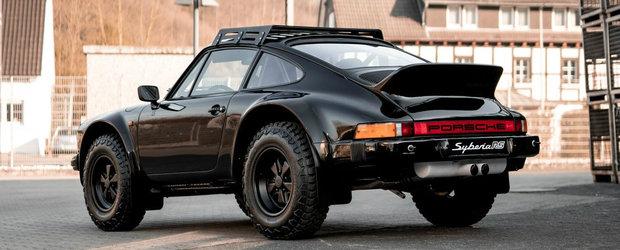 Au transformat acest Porsche clasic intr-un off-roader care ar pune la respect chiar si celebrul G-Class. VIDEO