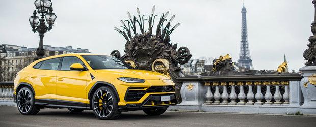 Au tras lozul castigator. Italienii de la Lamborghini asaltati cu comenzi pentru noul super-SUV Urus