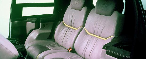 Au trecut 30 de ani de cand Mercedes a prezentat lumii intregi masina cu camera pentru marsarier, panouri solare si senzor de ploaie
