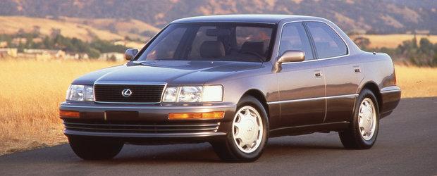 Au trecut 33 de ani de cand primul Lexus a fost aprobat. Cum arata modelul care venea sa dea S-ul jos de pe tron