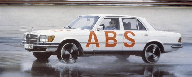 Au trecut 40 de ani de cand Mercedes si Bosch au inventat ABS-ul. Ce spuneau nemtii despre acest sistem in 1978