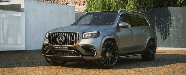 """Au tunat cel mai luxos SUV de la Mercedes: """"Atat am reusit sa stoarcem din motorul V8 fara interne forjate"""""""