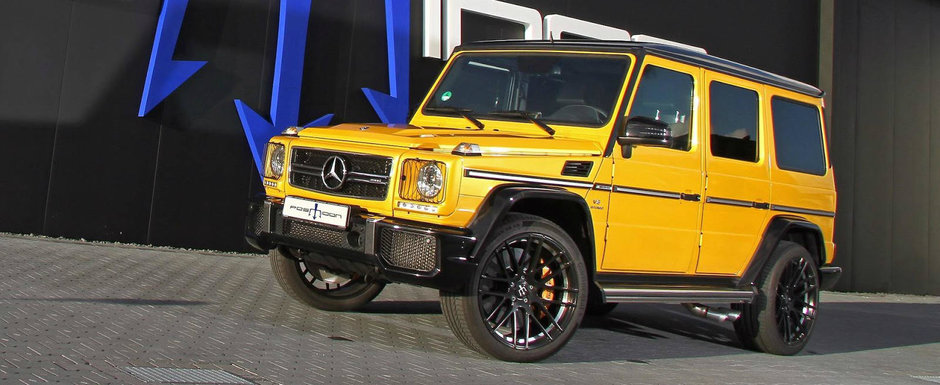 Au tunat poate cel mai popular SUV din lume. Rezultatul are 850 de cai si un cuplu cu care poate muta muntii