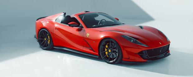 Au tunat ultimul Ferrari cu motor V12 aspirat. Cati CP are acum super masina italiana