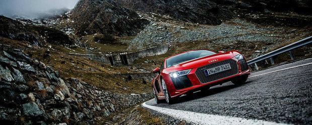 Au venit in Romania pentru a experimenta 'cel mai bun drum din lume'. Imaginile surpriza de pe contul Audi USA