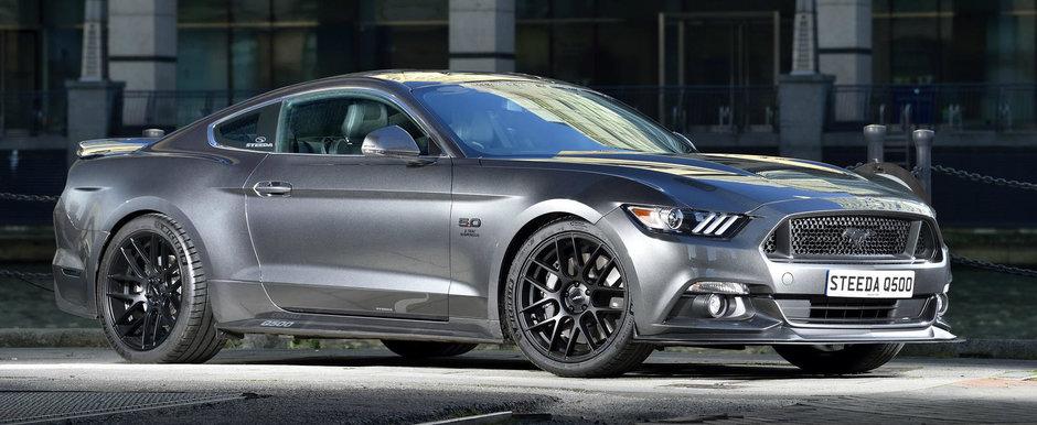 Au vrut mai multa putere pentru Mustang-ul V8. Cati cai au reusit sa stoarca specialistii Steeda