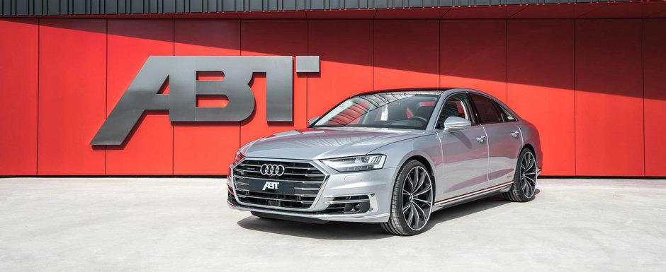 Au vrut sa fie primii care tuneaza noul A8. Cati cai dezvolta acum limuzina de la Audi cu motor diesel