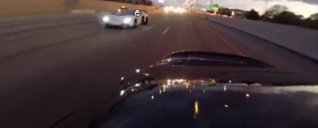 Auch! ASTA a durut! Momentul in care un Lamborghini de 400000 dolari se face de ras in fata unei Toyote