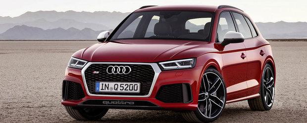 Audi a confirmat lansarea lui RS Q5 la Geneva