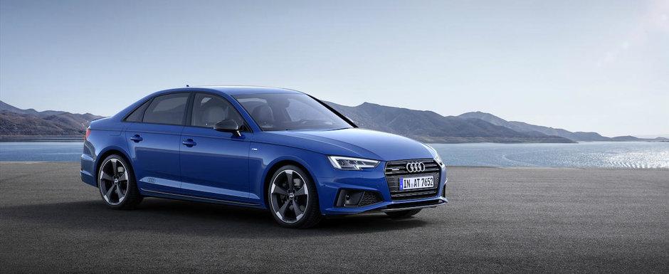 Audi a gasit ac de cojocul noului Mercedes C-Class. Germanii au lansat o versiune imbunatatita a modelului A4