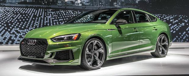 Audi a lansat la New York primul RS5 Sportback din istorie. POZE de la fata locului cu noul model al nemtilor