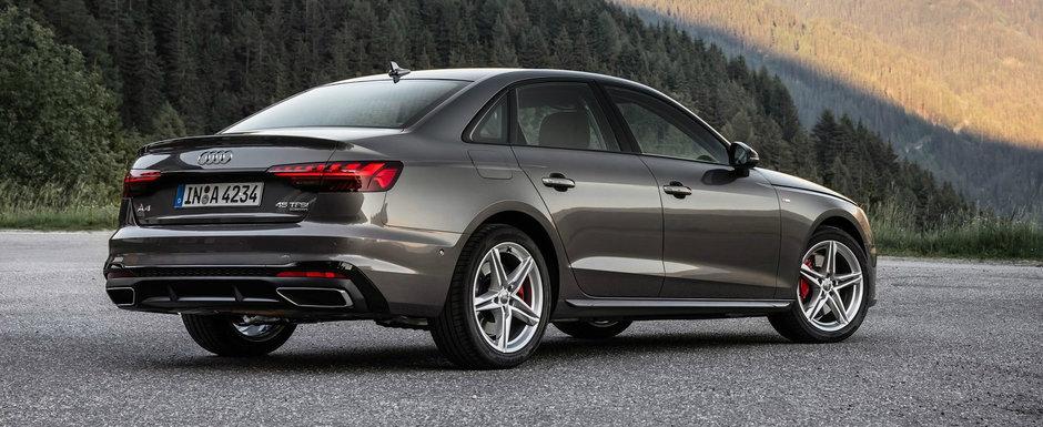 Audi a lansat noul A4 Facelift si in Romania. Uite aici cu cat se vinde masina germana