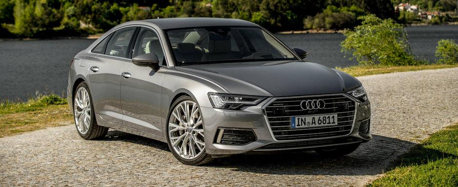 Audi a lansat noul A6 in Romania, iar concurenta nu mai poate face nimic pentru a-l stopa