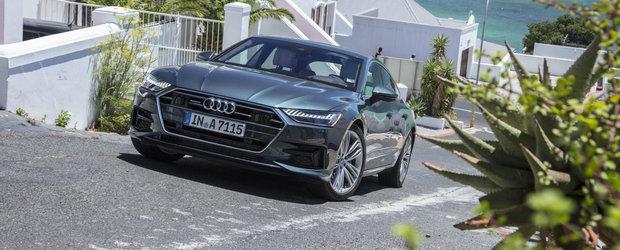 Audi a lansat noul A7 si in Romania. Uite cat trebuie sa platesti pentru rivalul lui Mercedes CLS