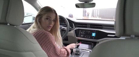 Audi a lansat noul A7 Sportback. POZE REALE cu masina germana ca sa vezi cat de sexy arata pe viu
