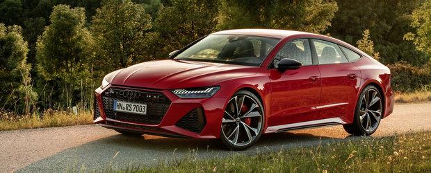 Audi a lansat noul RS7 Sportback si pe piata din Romania. Uite aici cat costa super-bolidul cu 600 de CAI pe ambele punti