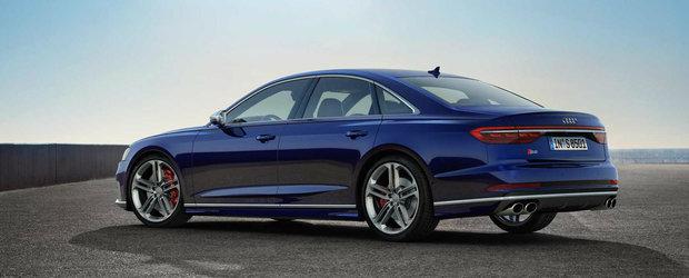 Audi a publicat acum primele fotografii si informatii oficiale: Fa cunostinta cu noul S8!