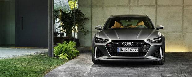 Audi a publicat acum primele imagini si detalii oficiale. Acesta este noul RS6 Avant!