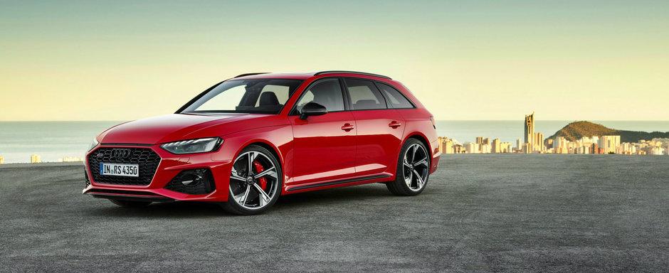 Audi a publicat acum toate imaginile si detaliile oficiale. Acesta este noul RS4 Avant!