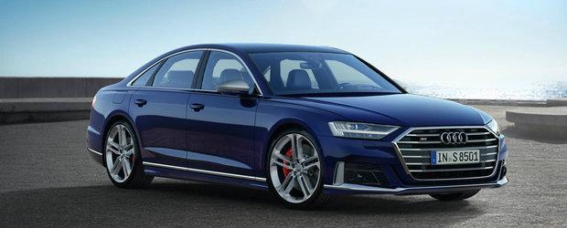 Audi a publicat acum toate informatiile. Noul S8 are 38 de sisteme de asistenta, 12 senzori cu ultrasunete, 6 camere video si 5 radare