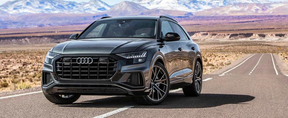 Audi a publicat preturile noului Q8. Uite cat trebuie sa platesti pentru rivalul lui BMW X6