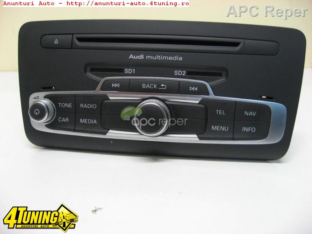 Audi A1 8X MMi 3G Audi Multimedia Navigatie Hdd DVD 8x0035666C