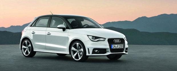 Audi A1 Sportback - Cinci usi, acelasi design clasic