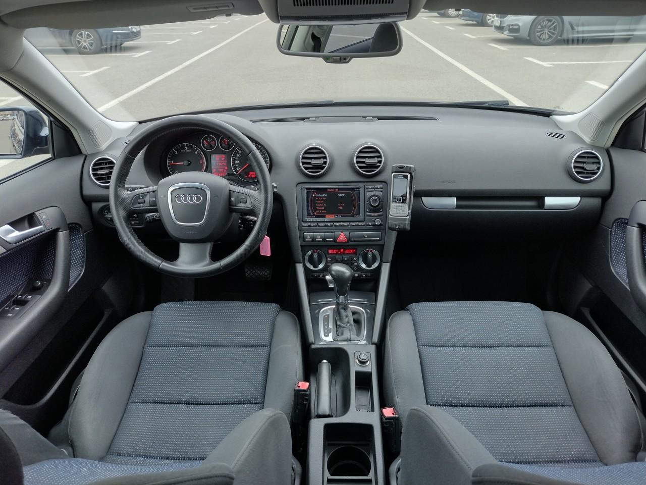Audi A3 2.0 TDI- 170 CP Automata Xenon Navi Panorama 2008