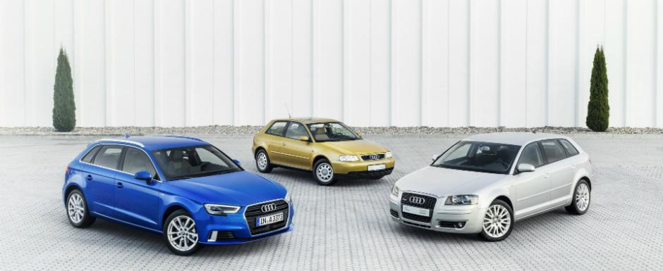 Audi A3 a implinit 20 de ani