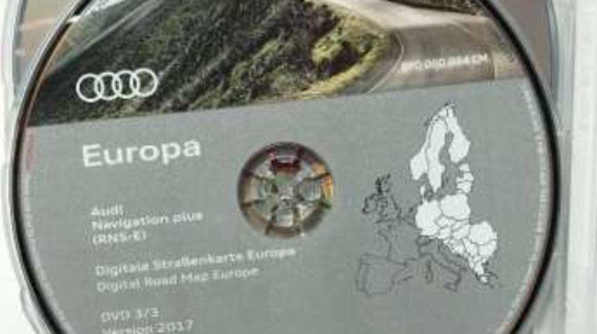 AUDI A3 A4 A6 TT DVD Navigatie RNS-E Europa + ROMANIA 2017 ORIGINAL