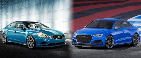 Audi A3 clubsport quattro vs Volvo S60 Polestar: Ce alegi si de ce?
